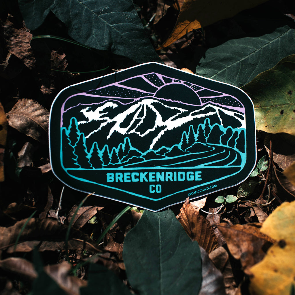 Breck Color Sticker
