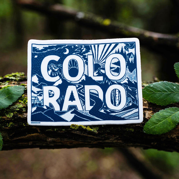 Colorado One Color Sticker