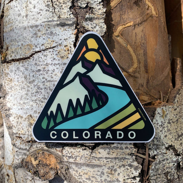 Colorado Badge Sticker