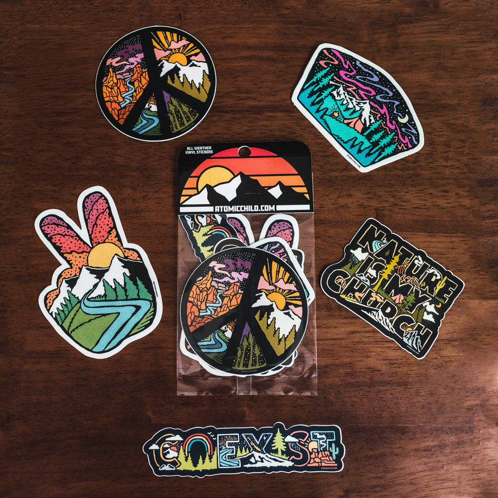 Free Spirit Sticker Pack