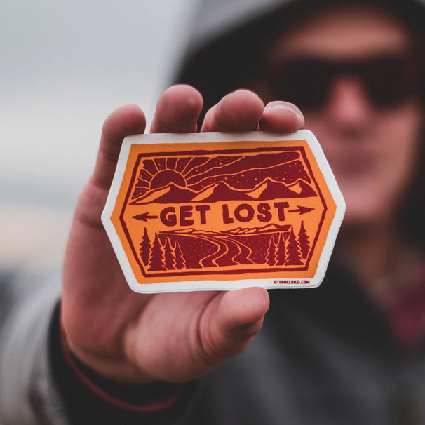 Get Lost Sticker