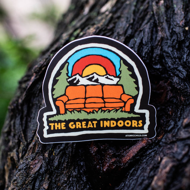 Great Indoors Sticker