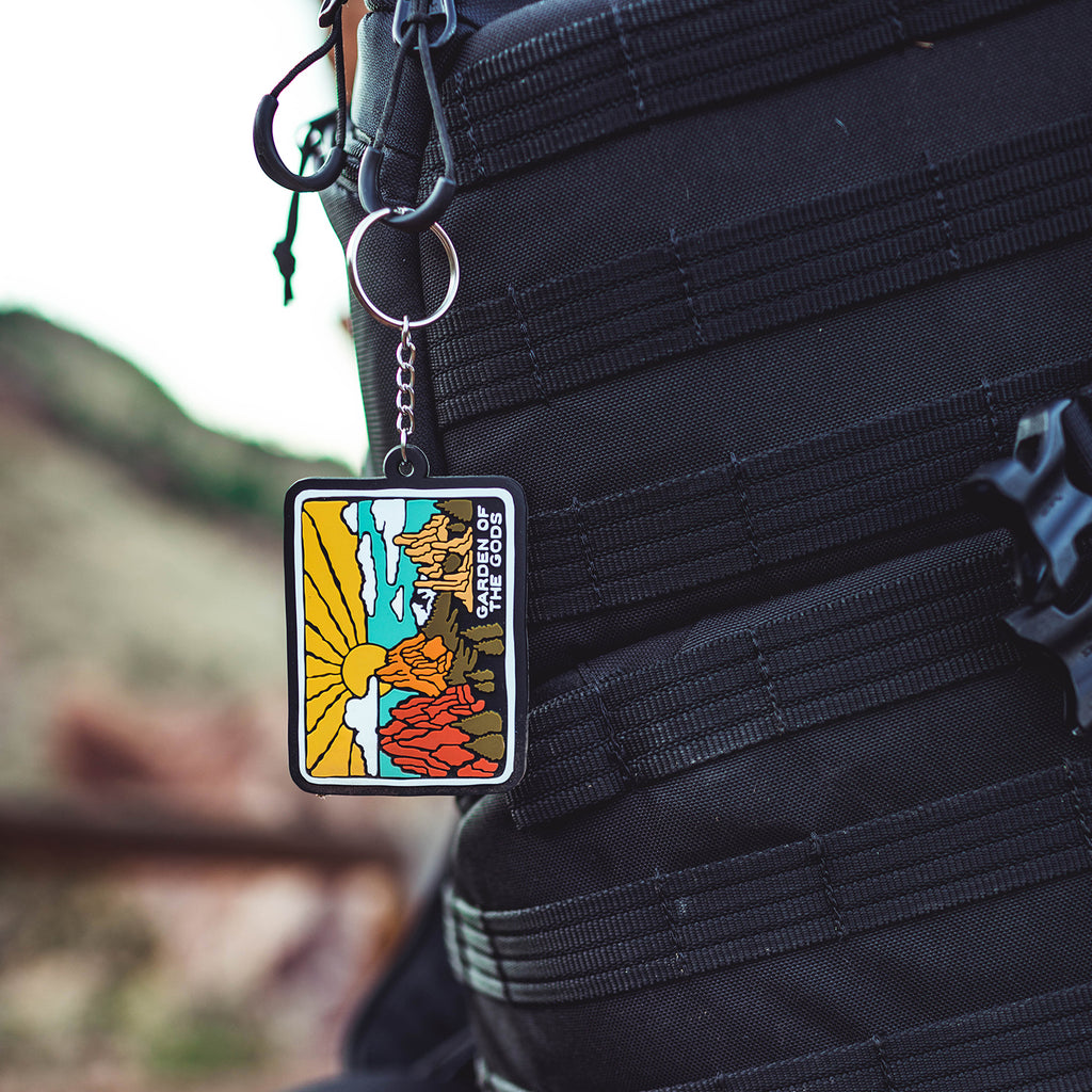 Garden of the Gods Keychain