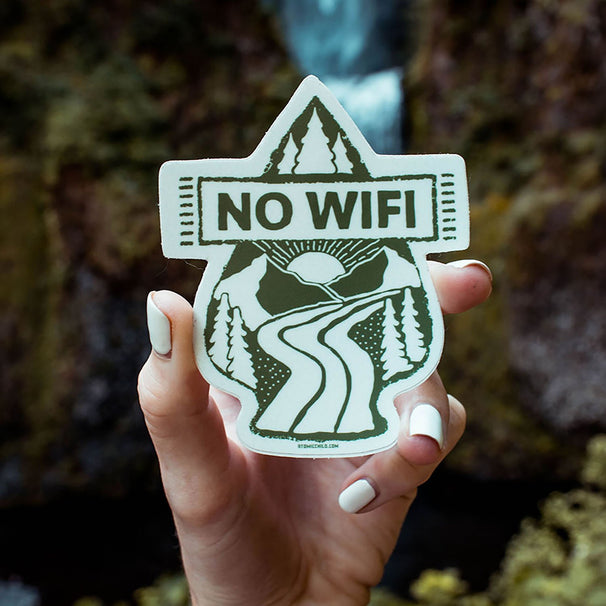 No Wifi Sticker