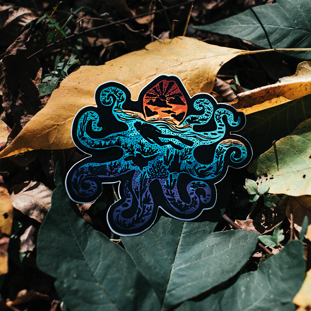 Octopus Sticker