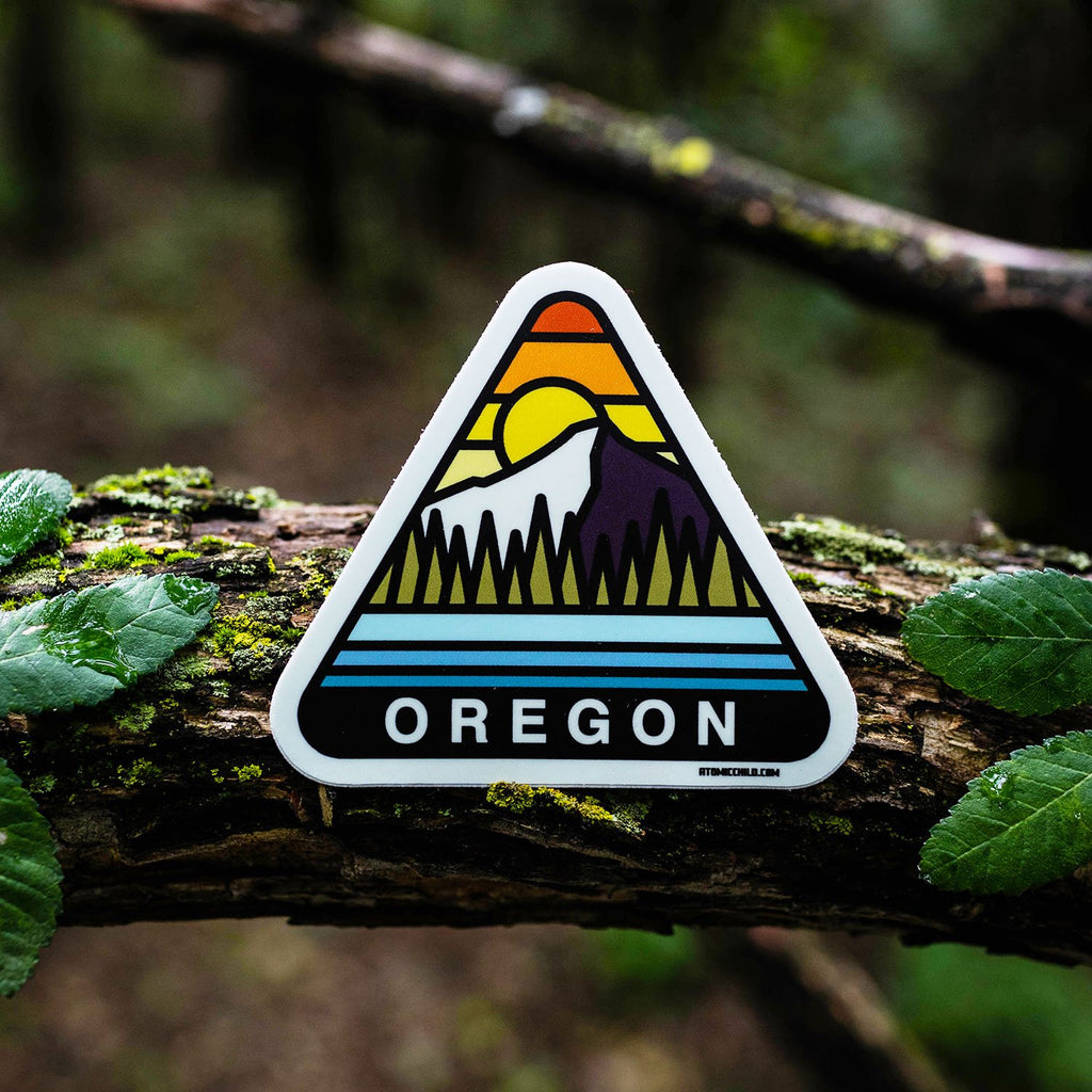 Triangle Oregon Sticker