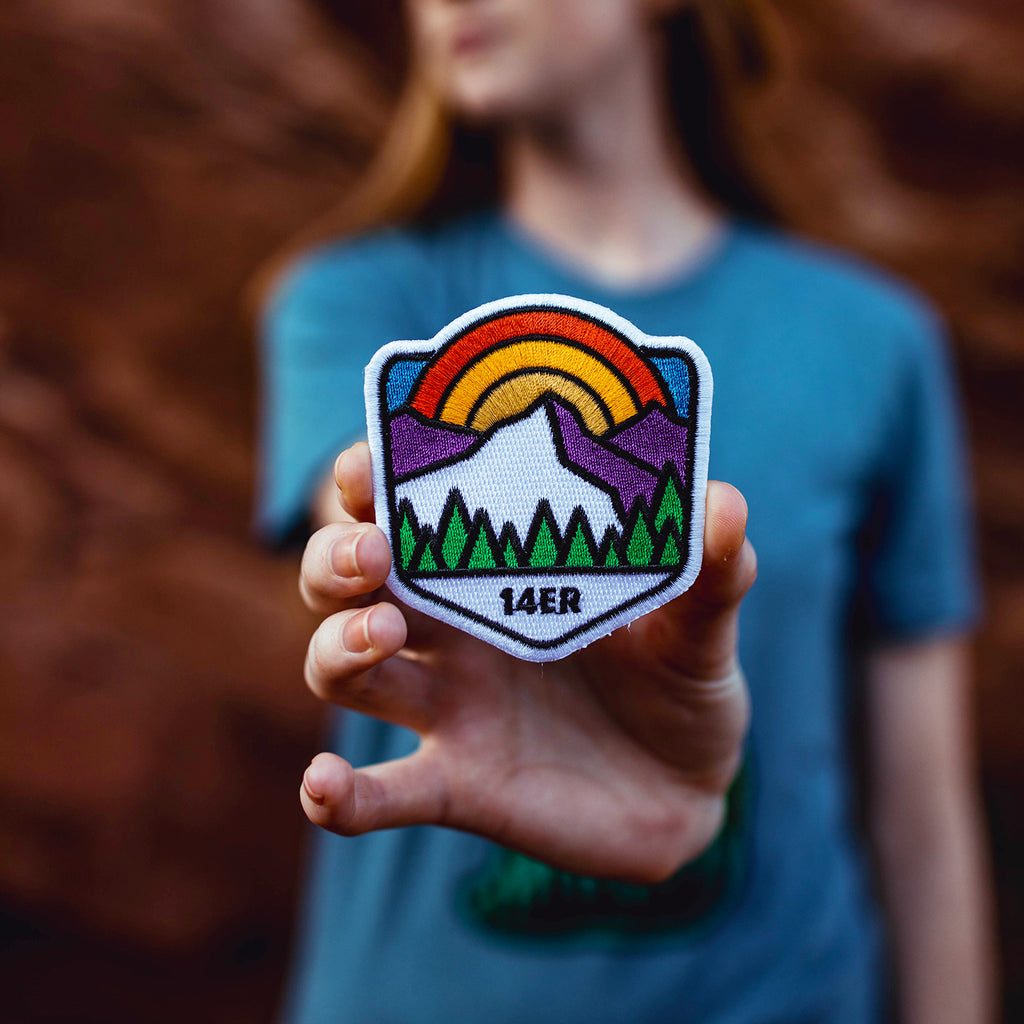 14er Embroidered Patch