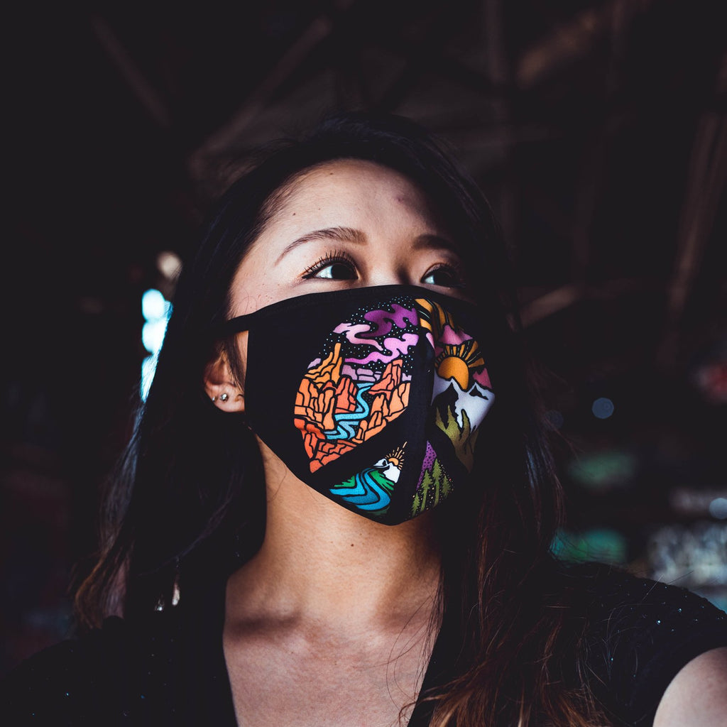 Circle of Peace Face Mask