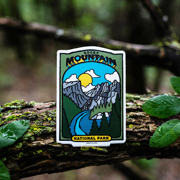 RMNP Baseball Card Sticker
