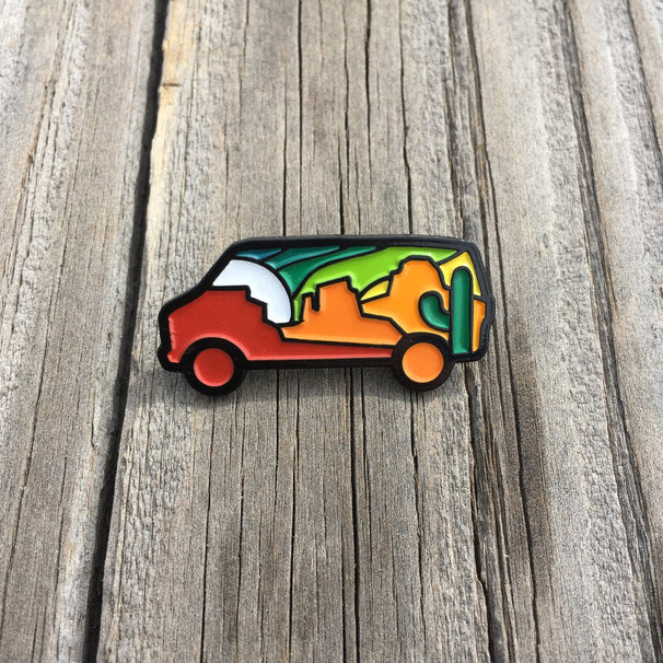 SouthWest Van Enamel Pin