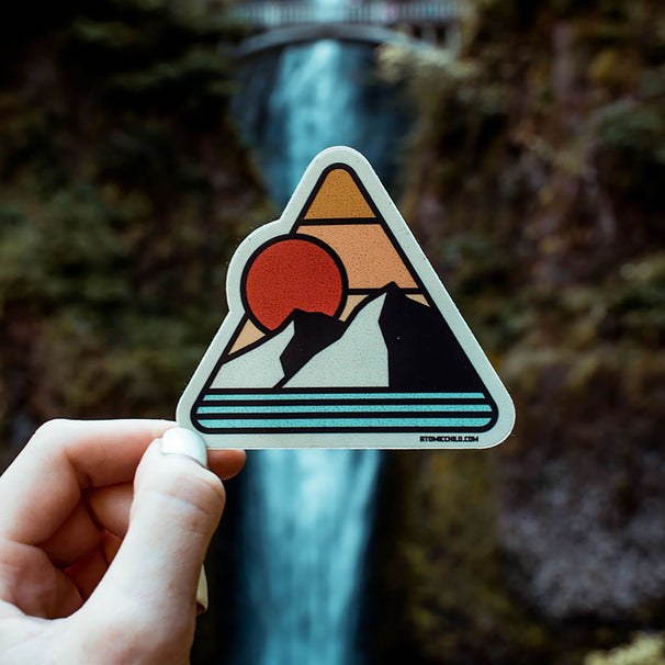 Vintage Mountain Sticker
