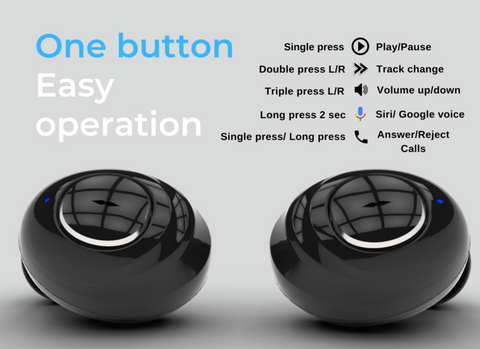 One button easy operation