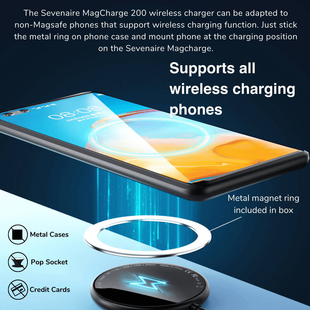 Magsafe wireless charger