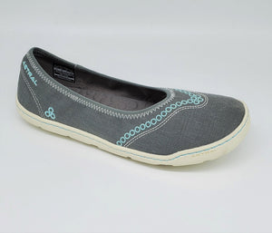 Astral Maria Ballet Flat Womens Casual Sneakers Hemp Grey