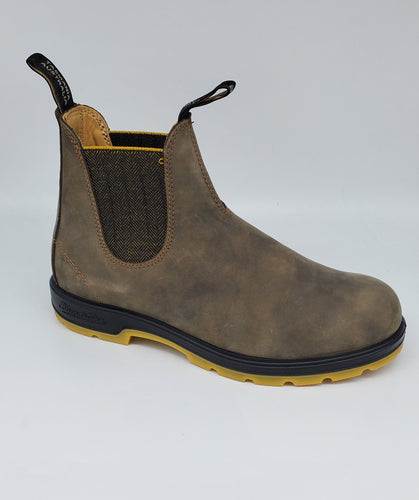 Blundstone 550 Series 1944 Brown Mustard Australia Chelsea Boots Work Boots