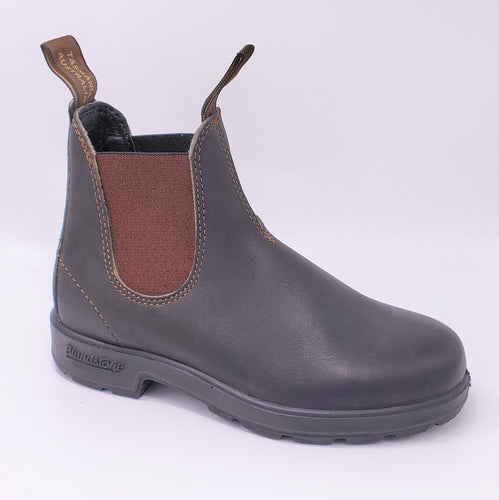 Blundstone 500 Series Stout Brown Australia Chelsea Boots