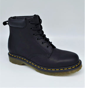 Dr. Martens 939 - 6 Eyelet Boot Black Greasy 24258001