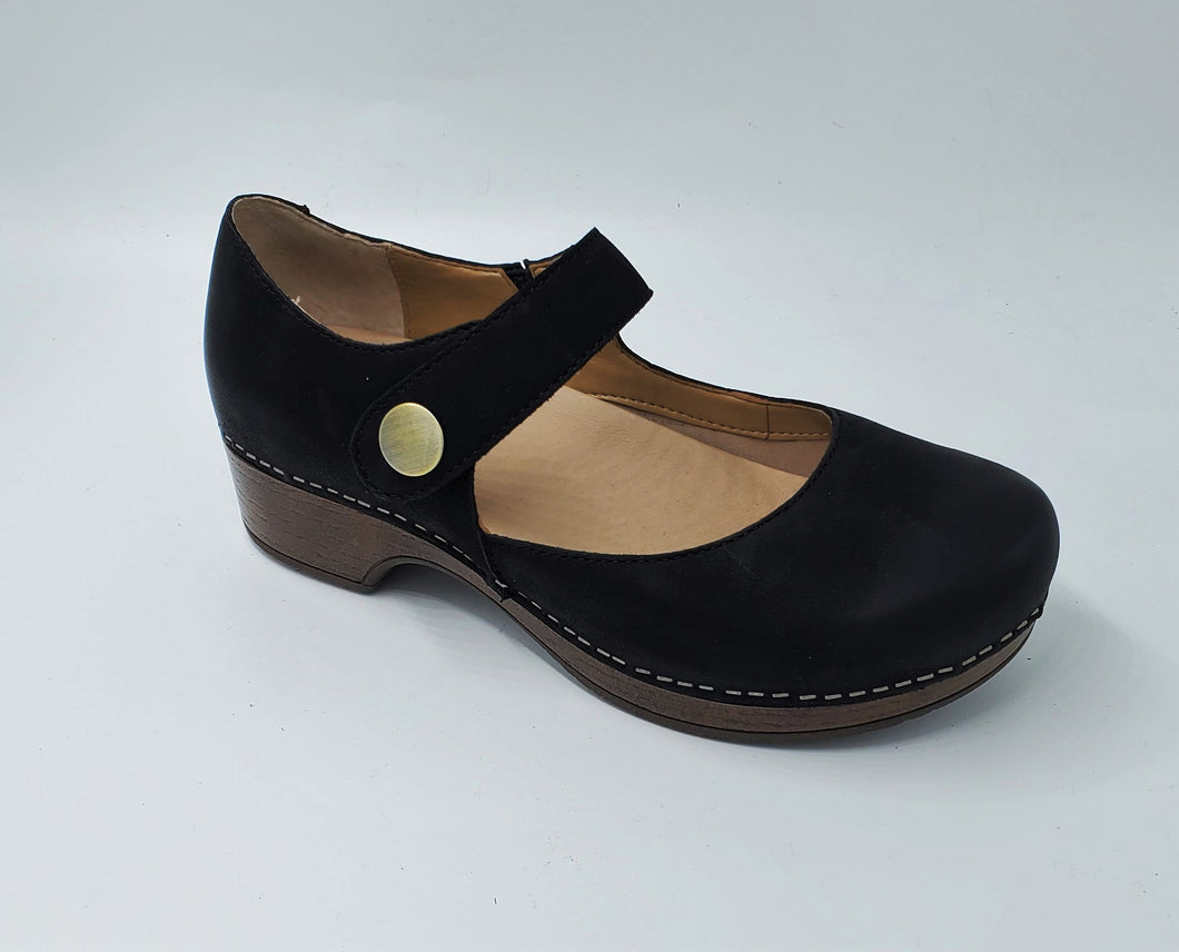 Dansko Beatrice Black Mary Jane Work Waitress