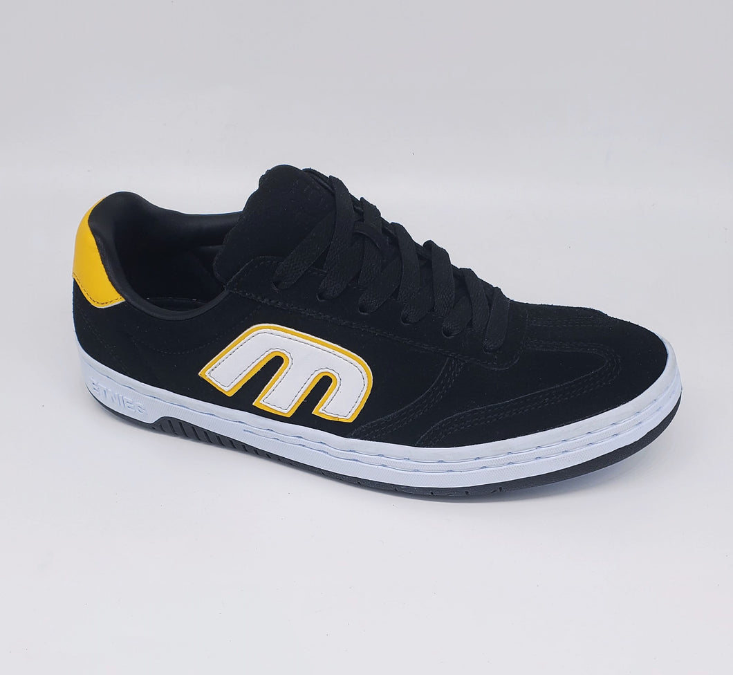 Etnies Locut Black/Yellow/White