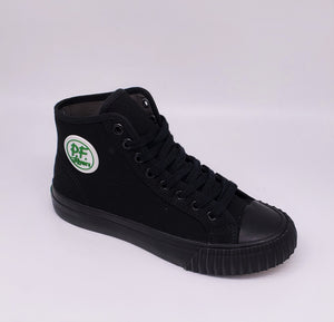 PF Flyer Center Hi Black/Black MC2001SD Sandlot