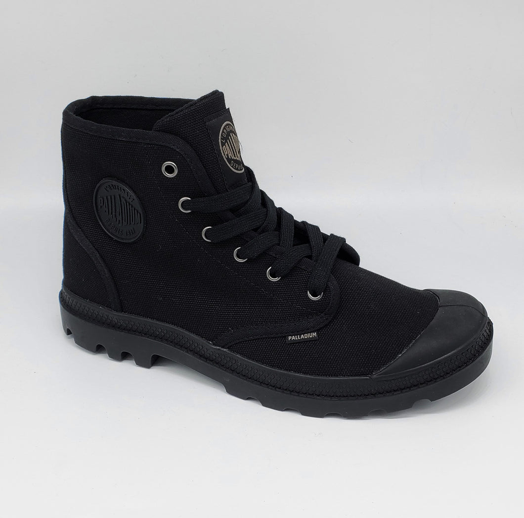 Palladium Mens Pampa Hi Black/Black