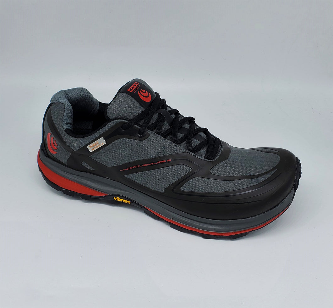 Topo Mens Hydroventure Grey/Red