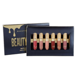 BEAUTY KIT - 6 Batons Matte 24 Horas - Presentes do Mundo