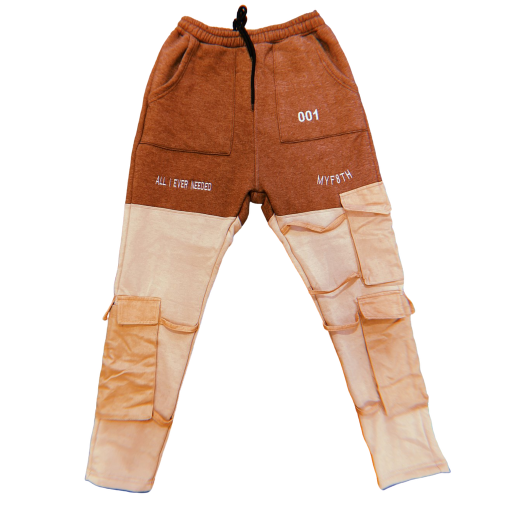 MYF8TH FW001 CARGO SWEATPANTS
