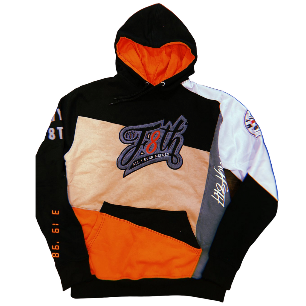 MYF8TH STATEMENT HOODIE (ORANGE)