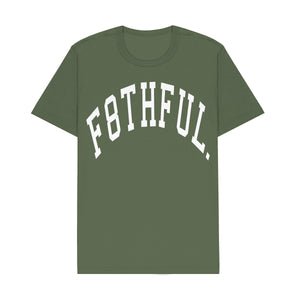 F8THFUL. CURVED ARC TEE