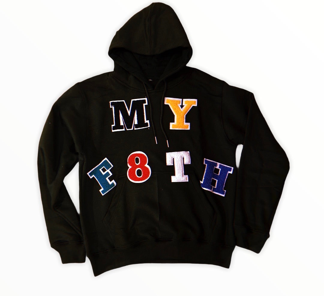 MYF8TH CHENILLE PATCH HOODIE