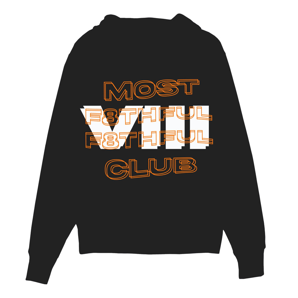 MOST F8THFUL F8THFUL CLUB HOODIE