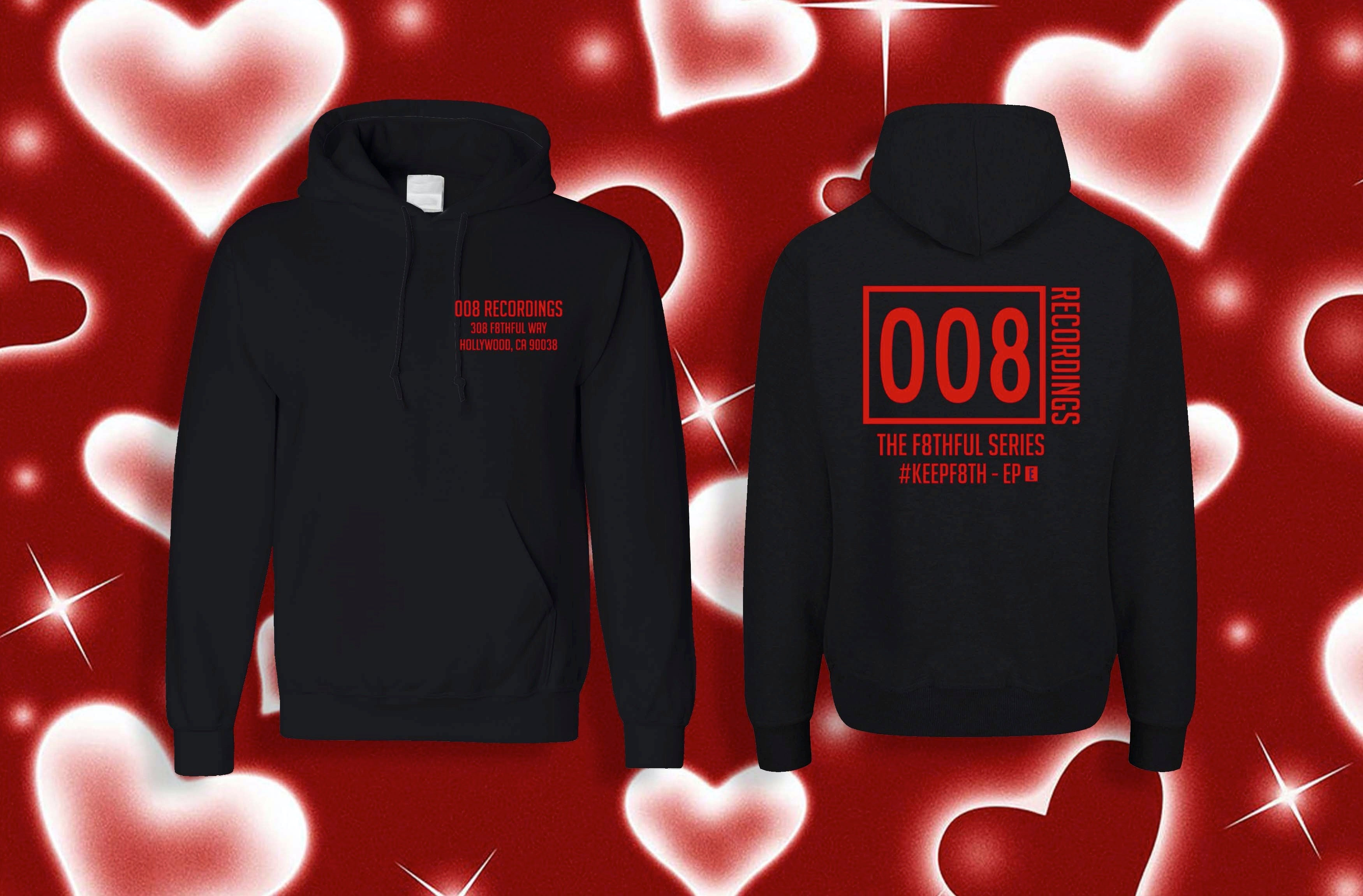 008 RECORDINGS STAFF HOODIES