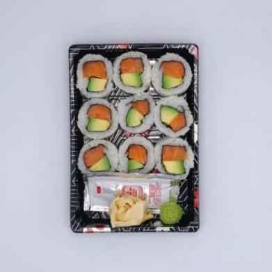 Gluten Free Salmon Avocado Roll