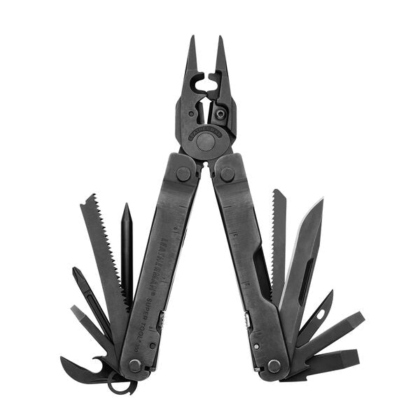 Leatherman Super Tool® 300 EOD Multi-Tool w/ MOLLE Sheath - Black Oxide