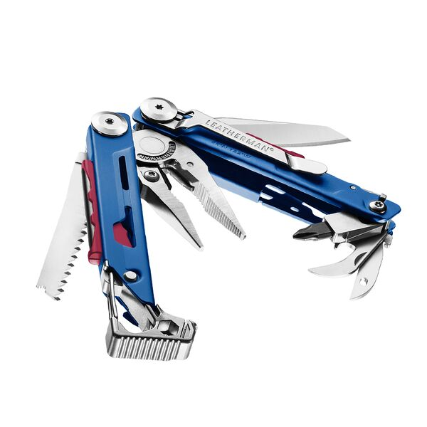 Leatherman Signal® Multi-Tool w/Nylon Sheath - Blue Cerakote