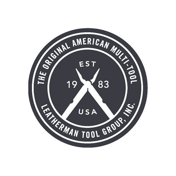 Leatherman Heritage Logo Sticker