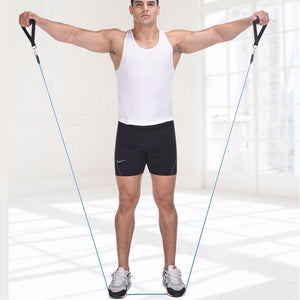 11 Pcs Resistance Workout Bands Set