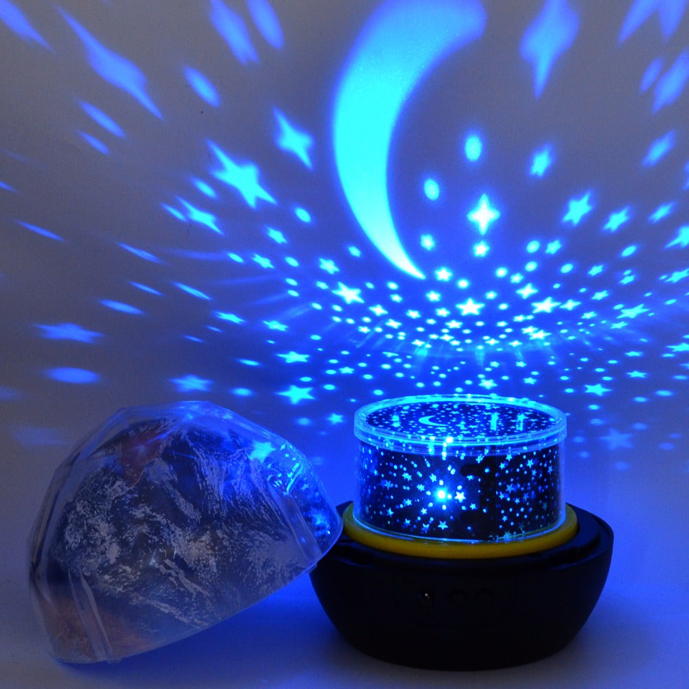 Starry Sky Night Light Planet Magic