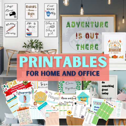 Shop here for Printables!