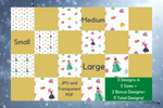 Seamless Holiday Background Papers with Commercial Use License🎄 - Why Not Mom