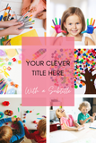 Canva Editable Templates for Pinterest-Lifestyle Blogger/ Influencer - Why Not Mom