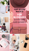 Social Media Instagram and Facebook Stories Templates for Bloggers