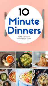 Social Media Instagram and Facebook Stories Templates for Food Bloggers and Influencers - Why Not Mom