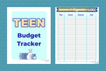 Teen Budget Income Planner for Christian Youth - Why Not Mom