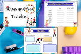 Fitness and Food Tracker - Why Not Mom