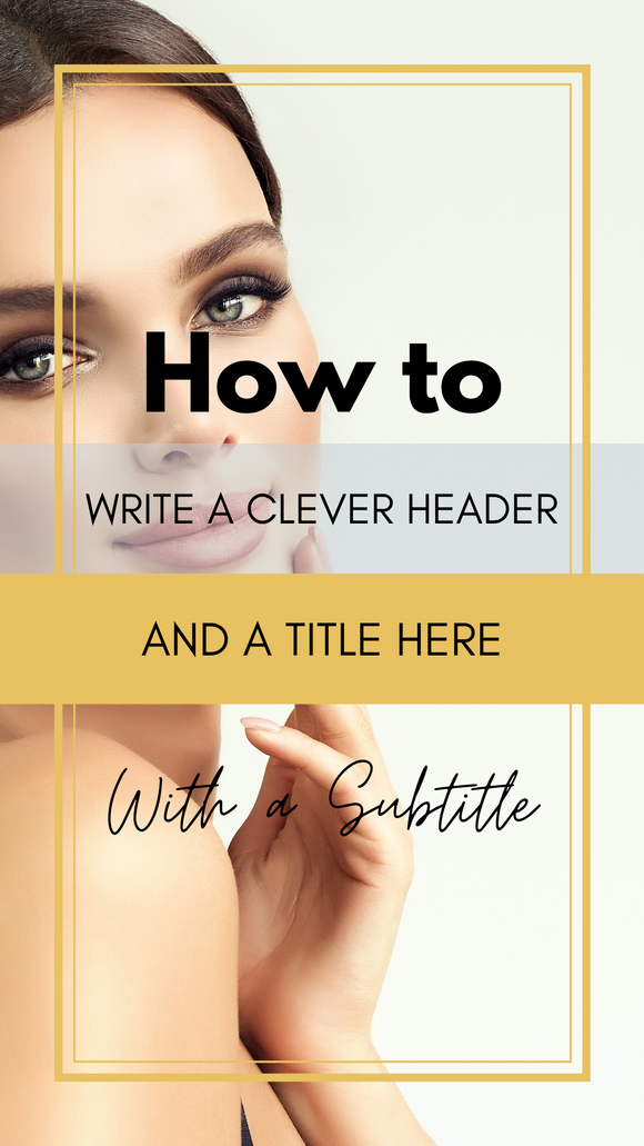 Canva Editable Templates for Instagram and Facebook Stories-Beauty/ Fashion/ Lifestyle Blogger/ Influencer - Why Not Mom