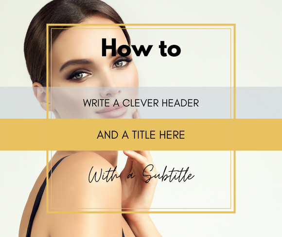 Canva Editable Templates for Facebook Posts- Beauty/ Fashion/ Lifestyle Blogger/ Influencer - Why Not Mom