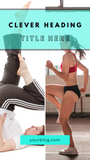 Social Media Instagram and Facebook Stories Templates for Fitness Bloggers and Influencers - Why Not Mom