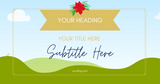 Facebook  AD Templates for the Holidays 🎄 - Why Not Mom